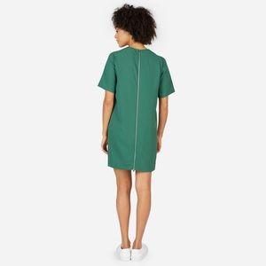 Green Everlane dress size 00